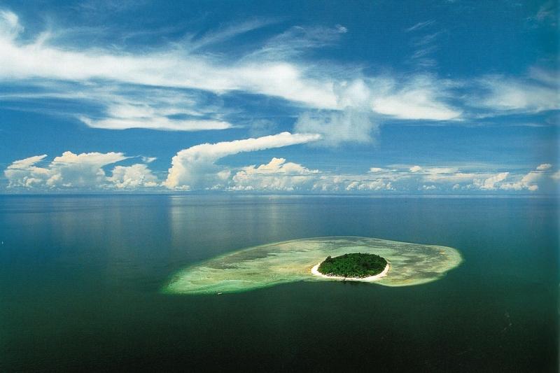 L'île de Sipadan, l'un des meilleurs sites de plongée au monde